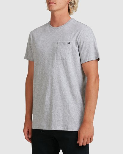 1 PREMIUM POCKET TEE Grey 9562046 Billabong