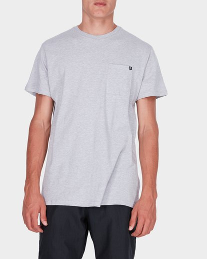 0 Premium Pocket T-Shirt Grey 9562046 Billabong
