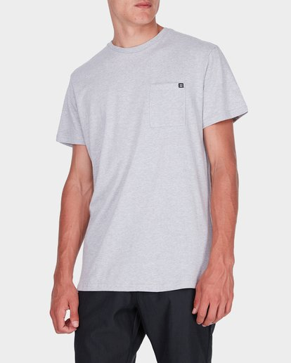1 Premium Pocket T-Shirt Grey 9562046 Billabong