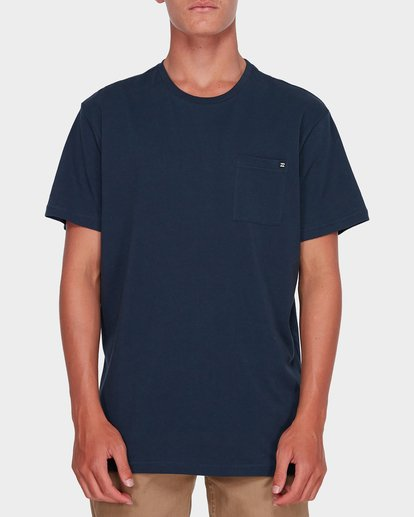 0 Premium Pocket Tee Blue 9562046 Billabong