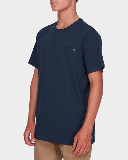 1 Premium Pocket Tee Blue 9562046 Billabong