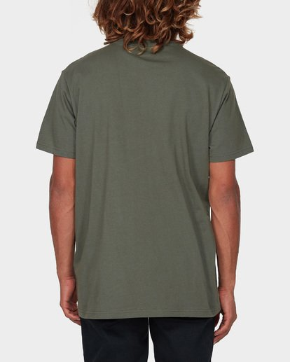 6 Premium Pocket Short Sleeve Tee Green 9562046 Billabong
