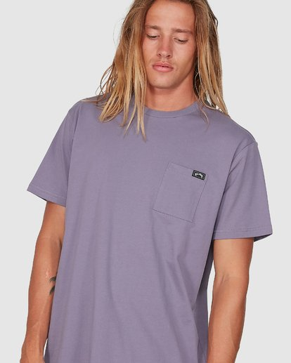 3 Premium Pocket T-Shirt Purple 9562046 Billabong