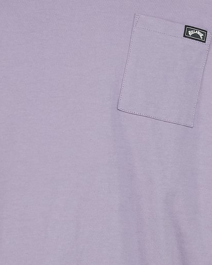 4 Premium Pocket Tee Purple 9562046 Billabong
