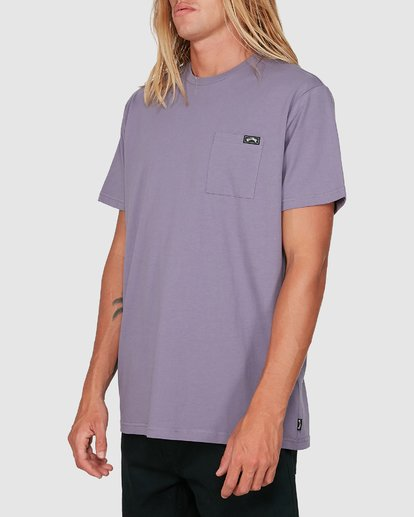 1 Premium Pocket T-Shirt Purple 9562046 Billabong