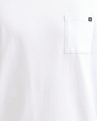 3 Premium Pocket Tee White 9562046 Billabong