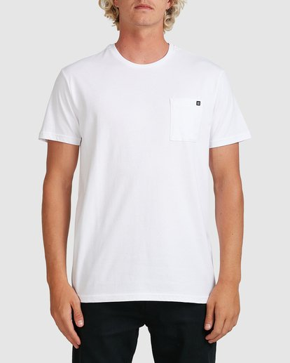0 Premium Pocket T-Shirt White 9562046 Billabong