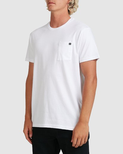 1 Premium Pocket T-Shirt White 9562046 Billabong