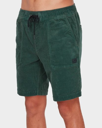 3 LARRY CORD ELASTIC Green 9571732 Billabong