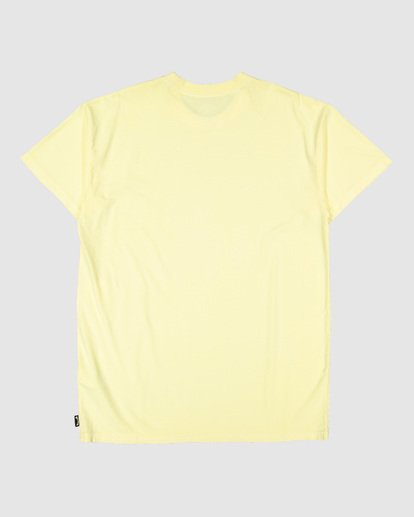 6 Premium Wave Wash Tee Yellow 9572051 Billabong