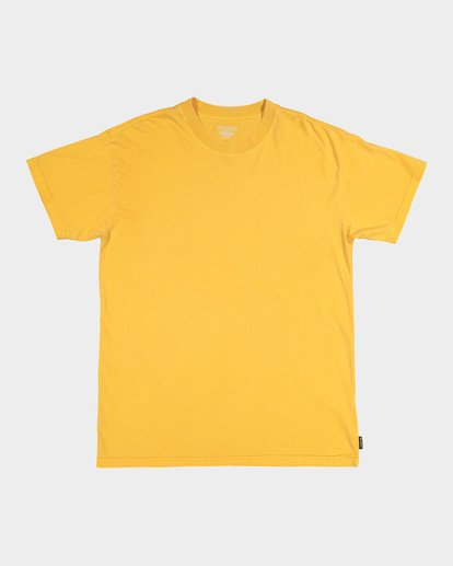 3 Premium Wave Wash Tee Yellow 9572051 Billabong