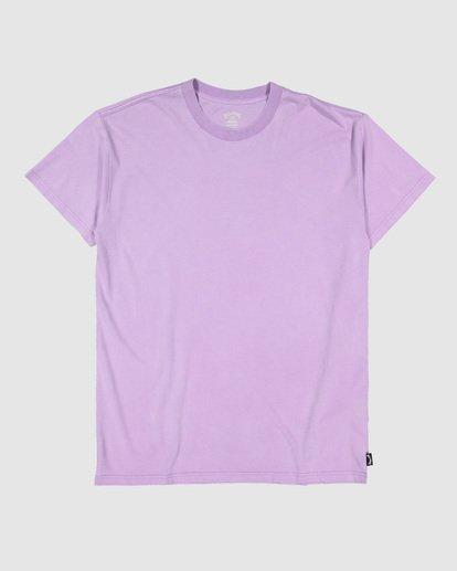 5 Premium Wave Wash Tee Purple 9572051 Billabong