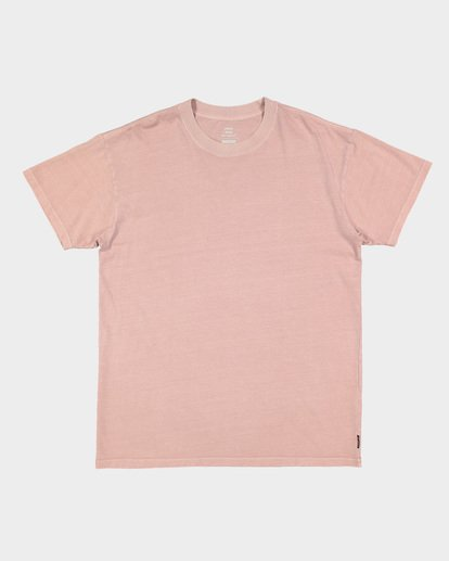 5 Premium Wave Wash Short Sleeve Tee Pink 9572051 Billabong