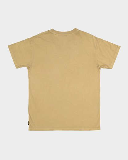 4 Premium Wave Wash Short Sleeve Tee Beige 9572051 Billabong