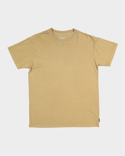 3 Premium Wave Wash Short Sleeve Tee Beige 9572051 Billabong