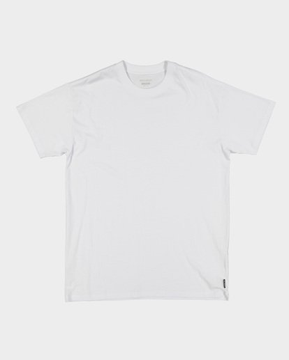 4 Premium Wave Wash Tee White 9572051 Billabong