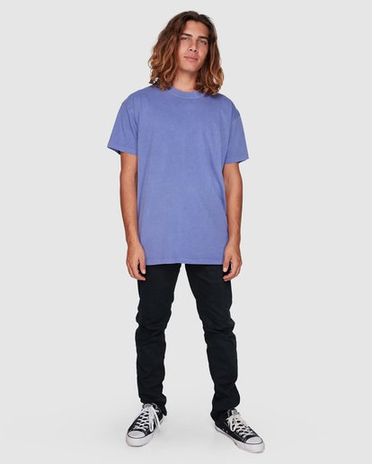6 Premium Wave Wash Short Sleeve Tee Purple 9572051 Billabong