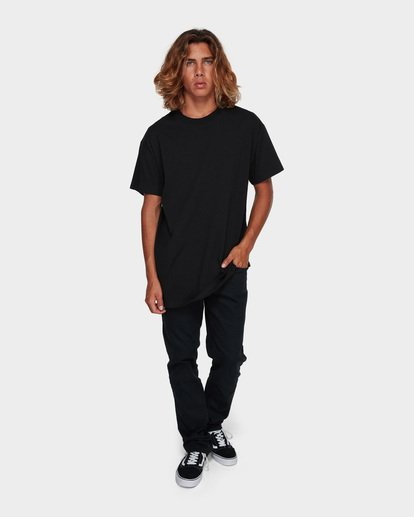 6 PREMIUM WAVE WASH TEE Black 9572051 Billabong
