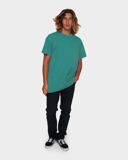 6 PREMIUM WAVE WASH TEE Green 9572051 Billabong