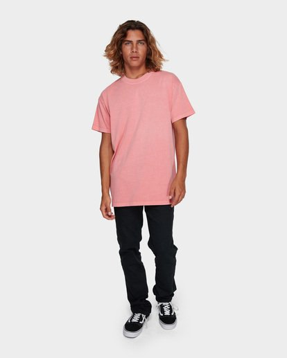 6 PREMIUM WAVE WASH TEE Pink 9572051 Billabong