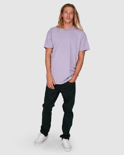 7 Premium Wave Wash Short Sleeve Tee Purple 9572051 Billabong