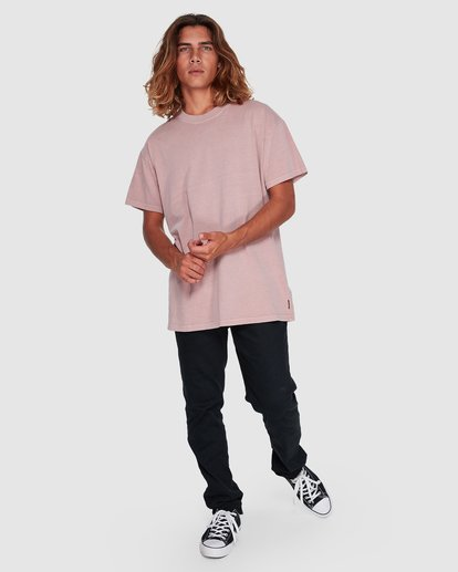 6 Premium Wave Wash Short Sleeve Tee Pink 9572051 Billabong
