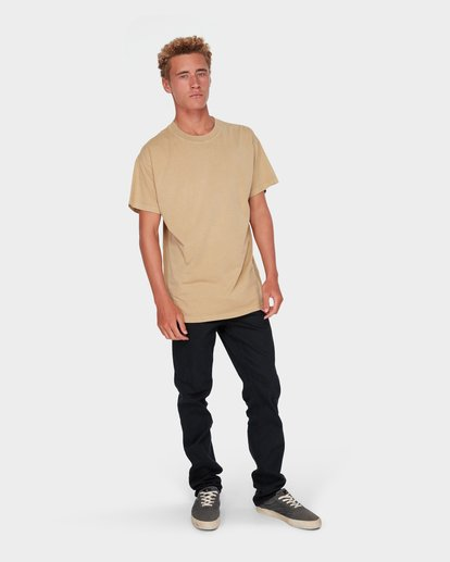 5 PREMIUM WAVE WASH TEE Beige 9572051 Billabong