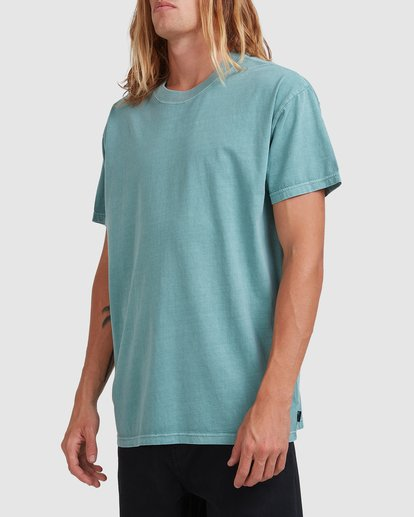 1 Premium Wave Wash Short Sleeve Tee Blue 9572051 Billabong