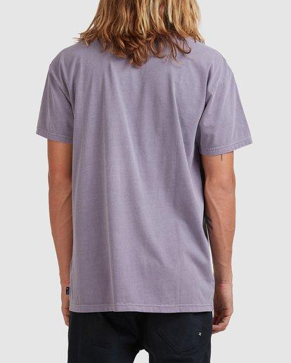2 Premium Wave Wash Short Sleeve Tee Purple 9572051 Billabong