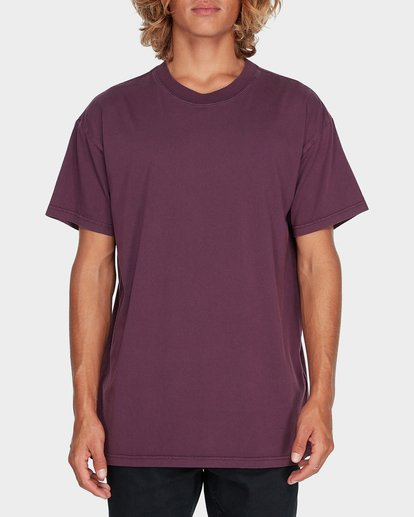 0 Premium Wave Wash Short Sleeve Tee Red 9572051 Billabong