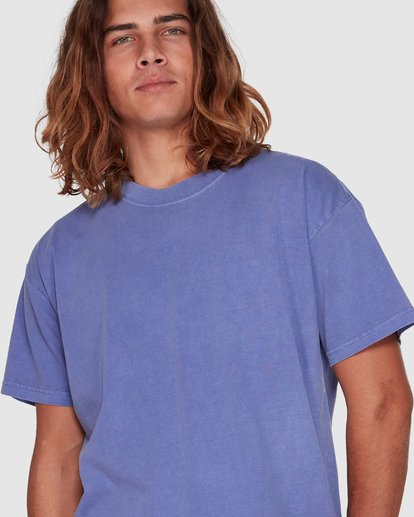 4 Premium Wave Wash Short Sleeve Tee Purple 9572051 Billabong