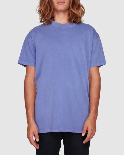 0 Premium Wave Wash Short Sleeve Tee Purple 9572051 Billabong