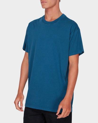 1 PREMIUM WAVE WASH TEE Blue 9572051 Billabong