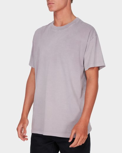 1 Premium Wave Wash Short Sleeve Tee Purple 9572051 Billabong