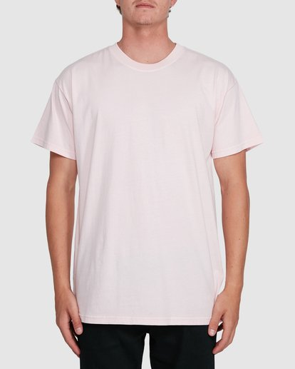 0 Premium Wave Wash Short Sleeve Tee Pink 9572051 Billabong