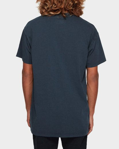 3 PREMIUM WAVE WASH TEE Blue 9572051 Billabong