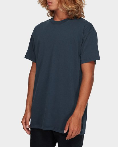 2 Premium Wave Wash Tee Blue 9572051 Billabong