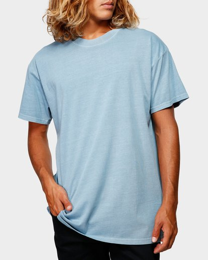 0 Premium Wave Wash Tee Blue 9572051 Billabong