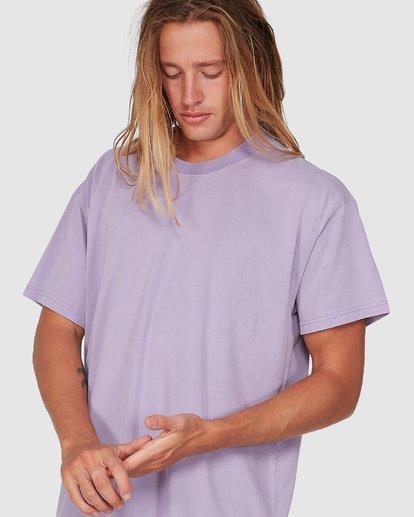 3 Premium Wave Wash Tee Purple 9572051 Billabong