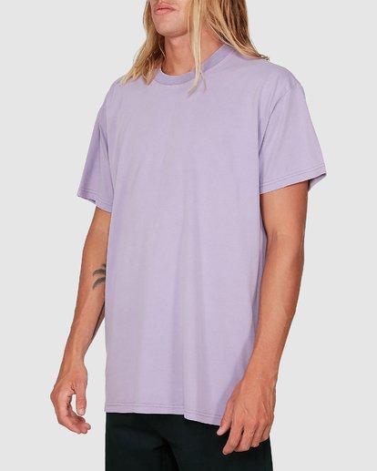 1 Premium Wave Wash Short Sleeve Tee Purple 9572051 Billabong
