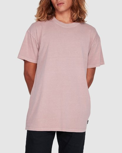 3 Premium Wave Wash Short Sleeve Tee Pink 9572051 Billabong