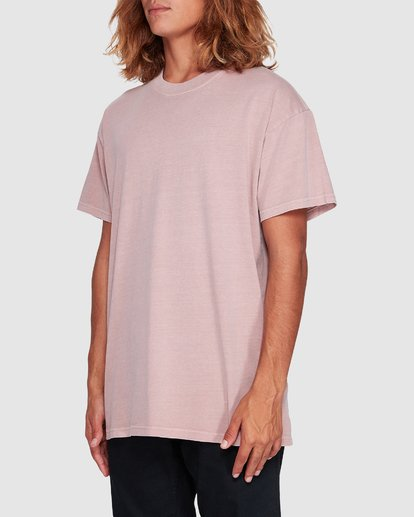 1 Premium Wave Wash Short Sleeve Tee Pink 9572051 Billabong