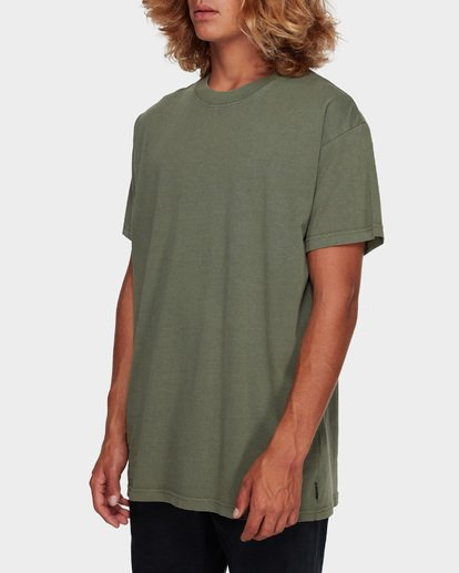 2 Premium Wave Wash Tee Green 9572051 Billabong