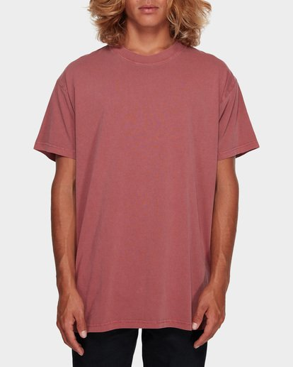 0 Premium Wave Wash Tee Pink 9572051 Billabong