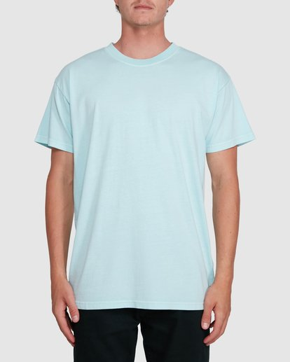 0 Premium Wave Wash Short Sleeve Tee Green 9572051 Billabong