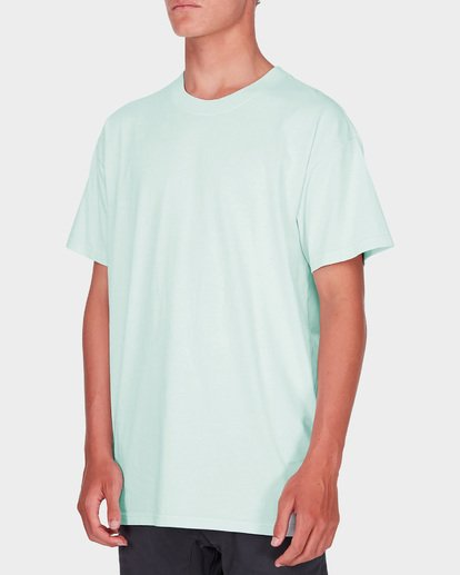 1 PREMIUM WAVE WASH TEE Blue 9572051 Billabong