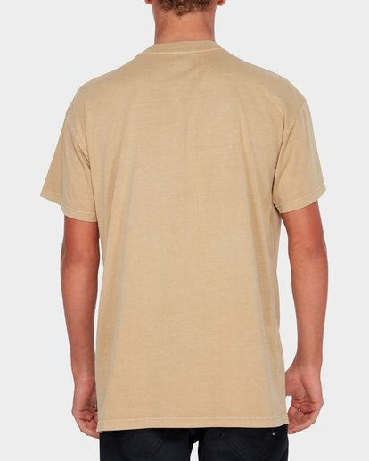 2 Premium Wave Wash Short Sleeve Tee Beige 9572051 Billabong