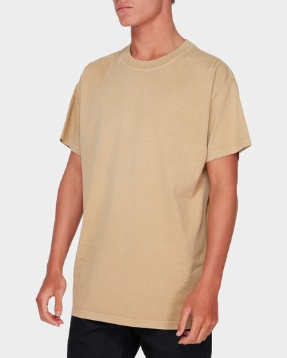 1 Premium Wave Wash Short Sleeve Tee Beige 9572051 Billabong