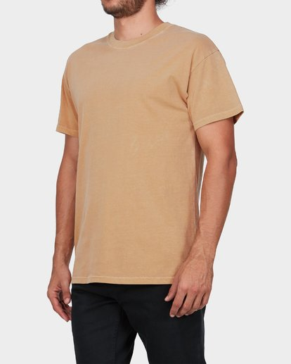 1 PREMIUM WAVE WASH TEE Yellow 9572051 Billabong