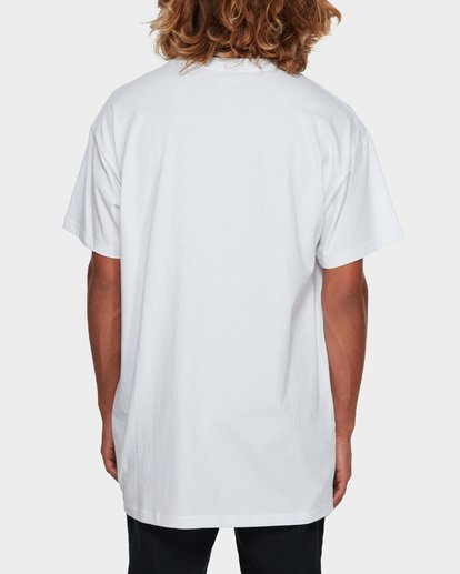3 Premium Wave Wash Tee White 9572051 Billabong